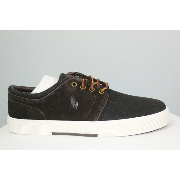 f6a6580b18a0b Polo Ralph Lauren Men s Faxon Low 9.5